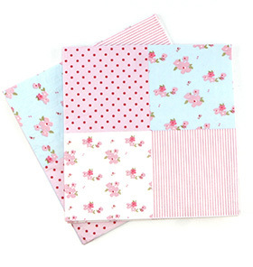 20 papier servietten mit blumen patchwork muster - Bastelpapier Muster