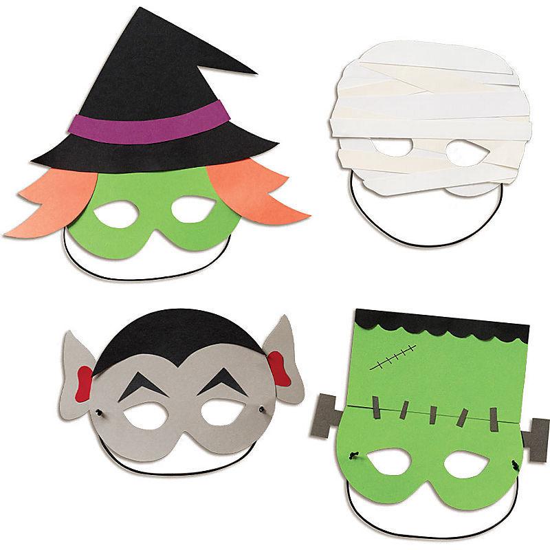 gespenster masken basteln