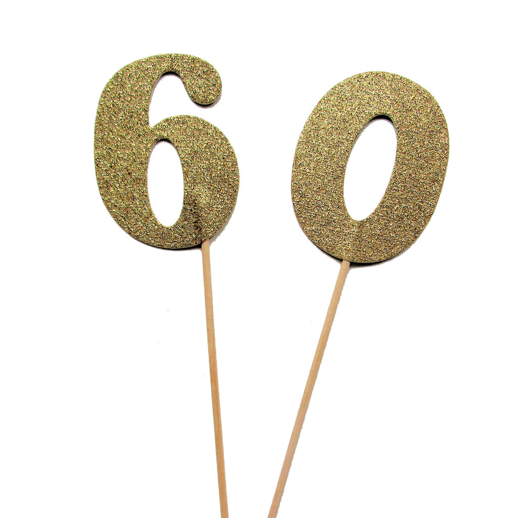 Gold Glitzernde Zahlen Kuchen Deko Topper Zahl 1 Www Cartissimi Com