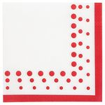 16 Papier-Servietten Sparkle & Shine Ruby